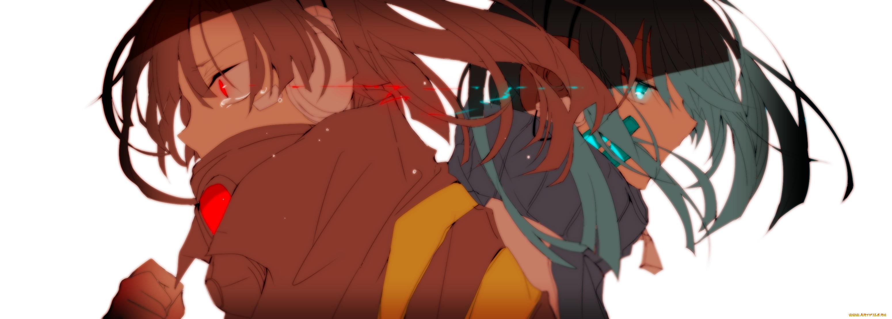 аниме, kagerou project, enomoto, takane, ene, kagerou, project, слёзы, арт, misoan